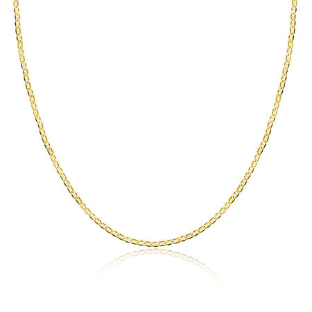 "45cm (18"") Hollow Anchor Chain in 10ct Yellow Gold"