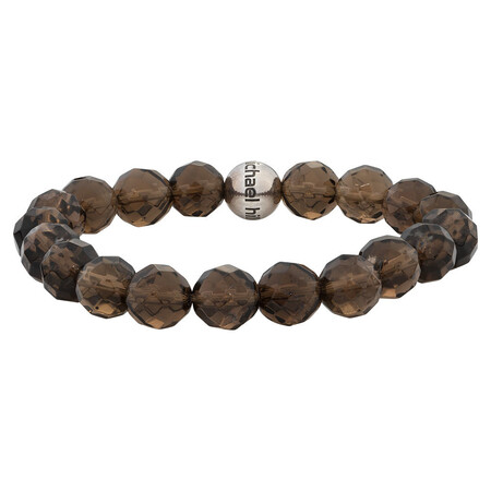 Online Exclusive - Bracelet with Smoky Quartz In Sterling Silver