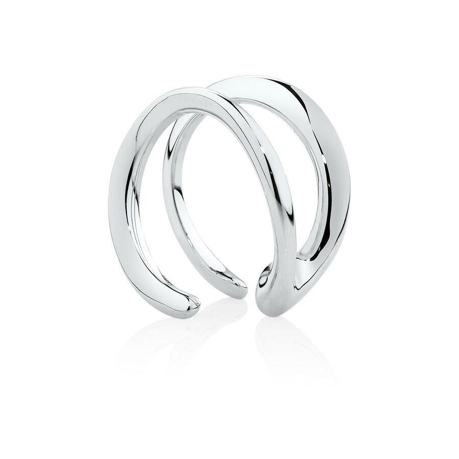 Mark Hill Cuff Earring in Sterling Silver