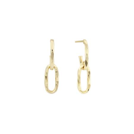 Drop Earrings in 10ct Yellow Gold