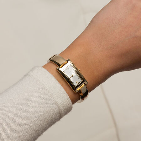 Ladies Watch in Gold Tone Stainless Steel