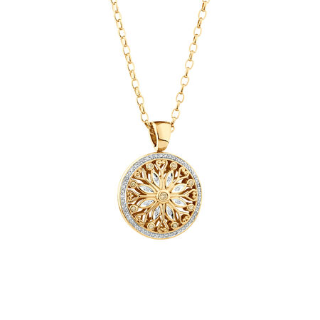 """50cm (20"""") Oval Belcher Chain in 10ct Yellow Gold"""