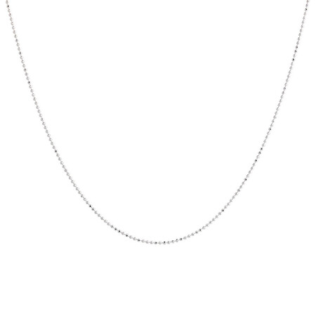"55cm (22"") Ball Chain in Sterling Silver"