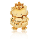 10ct Yellow Gold Queen Bee Charm