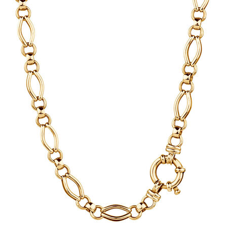 """45cm (18"""") Hollow Chain in 10ct Yellow Gold"""