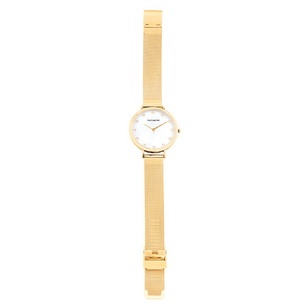 Watch Box Set in Gold Tone Stainless Steel