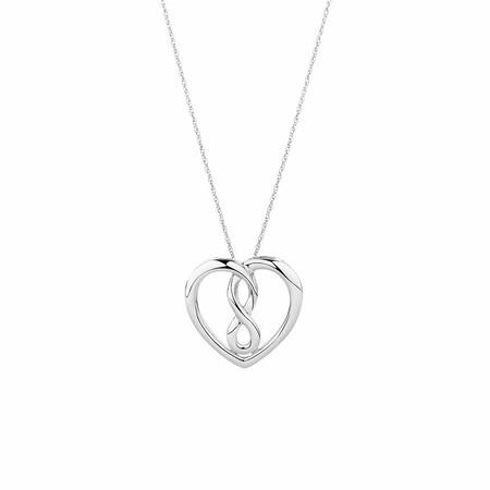 Medium Infinitas Pendant in Sterling Silver
