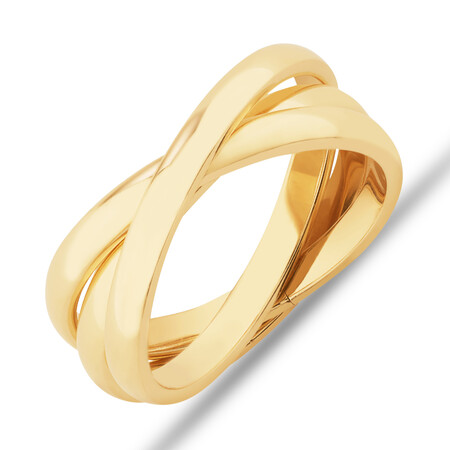 2.5mm Russian Wedding Ring in 10ct Yellow Gold