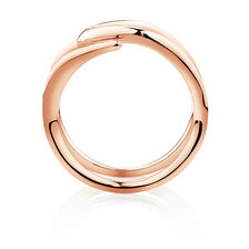 Mark Hill Wide Ring in 10ct Rose Gold