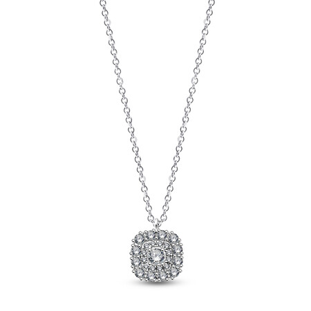 Pendant with 0.26 Carat TW of Diamonds in 10ct White Gold