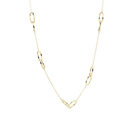 Multi-Link Necklace in 10ct Yellow Gold