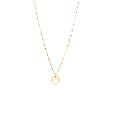 Fancy Necklace in 10ct Yellow Gold