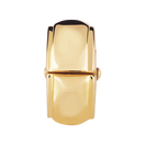 10ct Yellow Gold Patterned Stopper