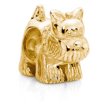 10ct Yellow Gold Scotty Dog Charm