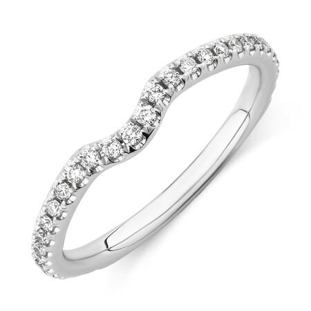 Sir Michael Hill Designer Wedding Band with 0.21 TW of Diamonds