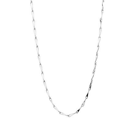 "45cm (18"") Infinity Chain in 10ct White Gold"