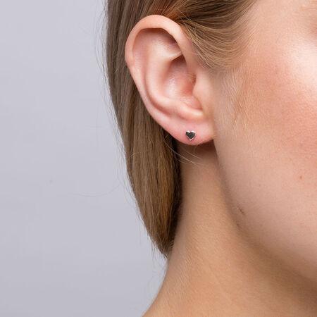 4mm Stud Earrings in Sterling Silver