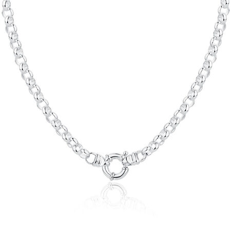 """45cm (18"""") Belcher Chain in Sterling Silver"""
