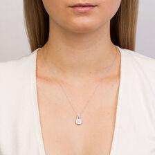 Michael Hill Designer Arpeggio Pendant with 1/2 Carat TW of Diamonds in 14ct White & Rose Gold