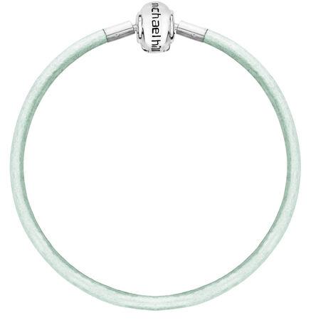 """Mint Triple Wrap Leather 57cm (22"""") Charm Bracelet"""