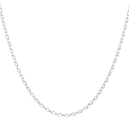 "65cm (26"") Belcher Chain in Sterling Silver"