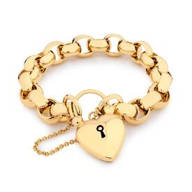 Belcher Bracelet in 10ct Yellow Gold