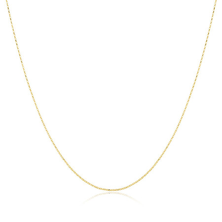 "60cm (24"") Belcher Chain in 10ct Yellow Gold"