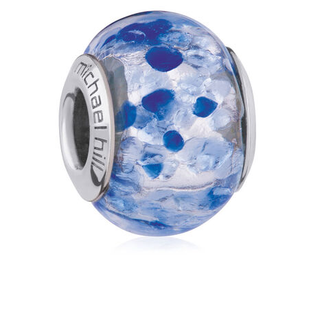 Dark Blue Murano Glass Charm