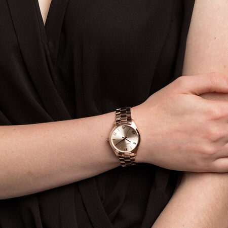 Ladies' Watch in Rose Tone Stainless Steel