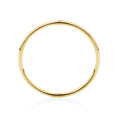 Band Ring in 10ct Yellow Gold
