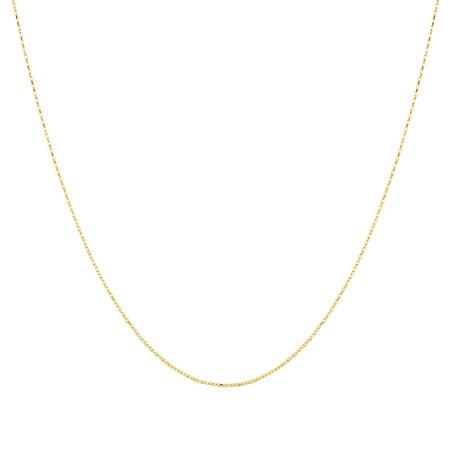 "60cm (24"") Belcher Chain in 10ct Yellow Gold"