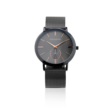 Watch in Grey Tone Stainless Steel