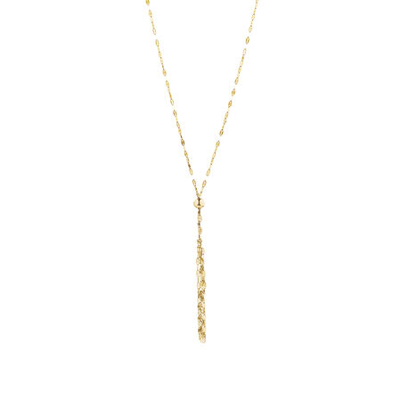 Tassel Necklace in 14ct Yellow Gold