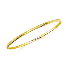 Bangle in 10ct Yellow Gold