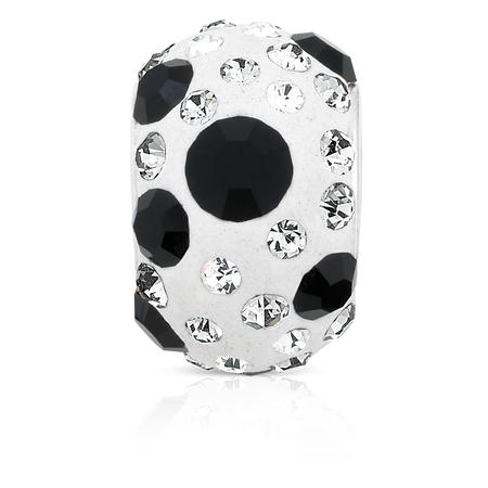 Black Crystal Charm