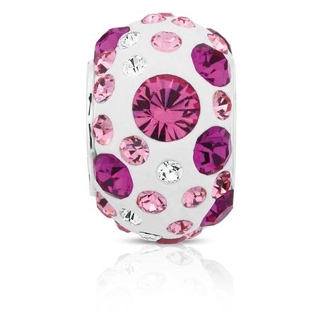 Pink Crystal Charm