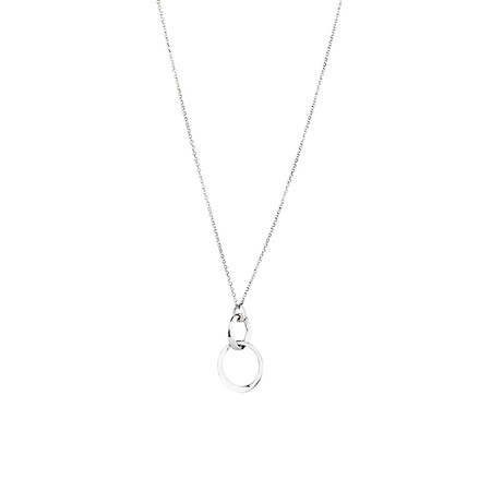 "45cm (18"") Drop Pendant in Sterling Silver"