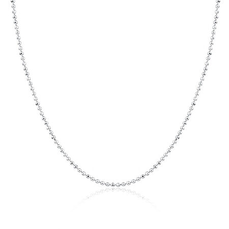 "40cm (16"") Chain in Sterling Silver"