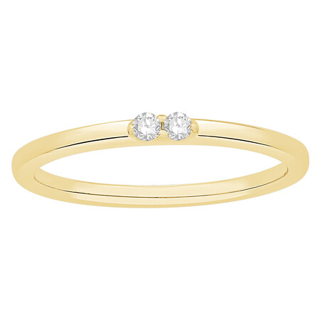 Stacker Ring in 10ct Yellow Gold