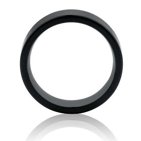 Ring in Black Titanium