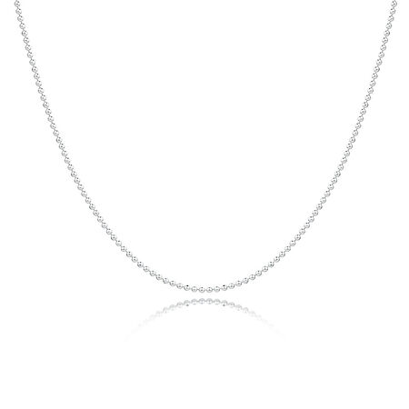 """70cm (28"""") Chain in Sterling Silver"""