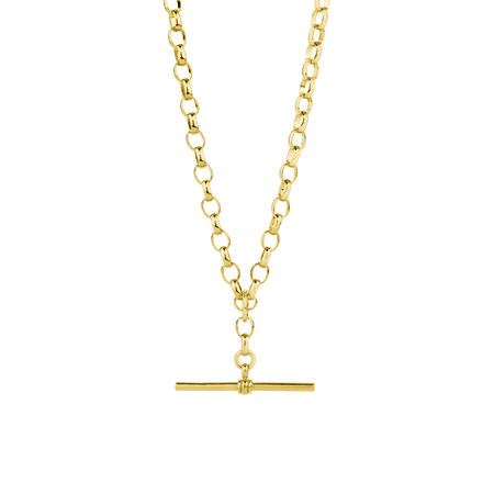 "60cm (24"") Belcher Fob Chain in 10ct Yellow Gold"
