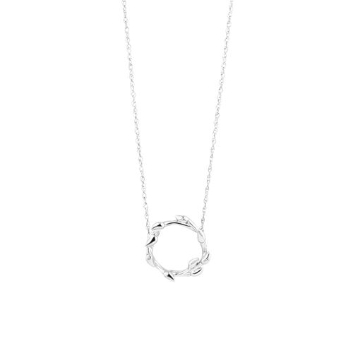 Willow Necklace In Sterling Silver