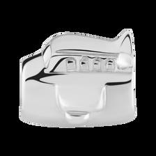 Sterling Silver Aeroplane Charm