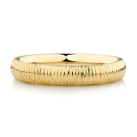 Patterned Ring in 10ct Yellow Gold