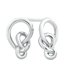Knots Earrings in Sterling Silver