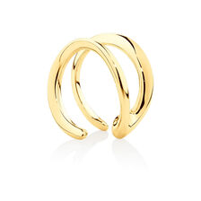 Mark Hill Cuff Earrings in 10ct Yellow Gold