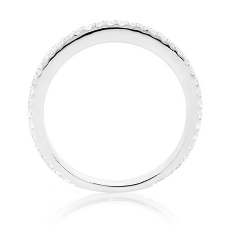 Sir Michael Hill Designer GrandAllegro Wedding Band with 0.31 Carat TW of Diamonds in 14ct White Gold