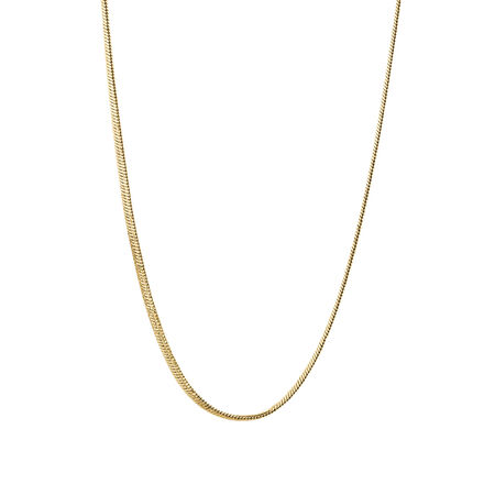 "45cm (18"") Snake Chain in 10ct Yellow Gold"