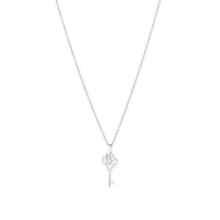 Key Pendant in Sterling Silver
